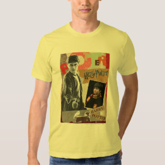 Harry Potter Then and Now T Shirts