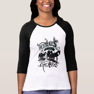 Harry Potter | Thestrals Typography Graphic T-Shirt