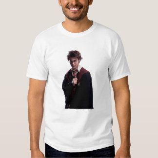 Harry Potter Wand Raised Tee Shirt