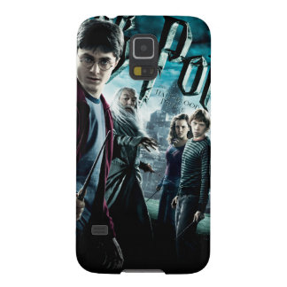 Harry Potter With Dumbledore Ron and Hermione 1 Cases For Galaxy S5
