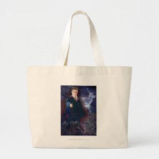 Harry Potter's Stag Patronus Large Tote Bag