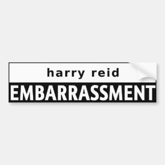 Harry Reid Bumper Sticker
