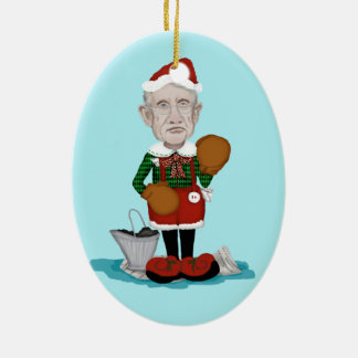 Harry Reid Congressional Elf Ornament
