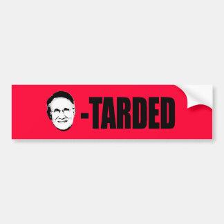 Harry Reid-tarded Bumper Sticker