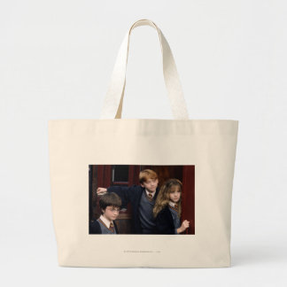 Harry, Ron, and Hermione Large Tote Bag