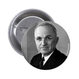 Harry S. Truman 33rd President 2 Inch Round Button
