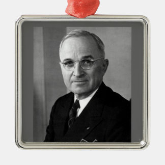 Harry S. Truman 33rd President Metal Ornament