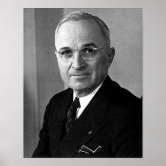 Harry S. Truman 33rd President Poster