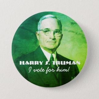 Harry S. Truman 3 Inch Round Button