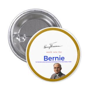 Harry S Truman for Bernie Sanders 1 Inch Round Button