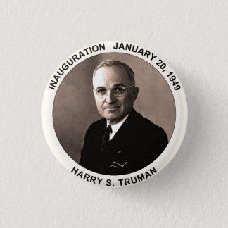 Harry S. Truman Inauguration Button
