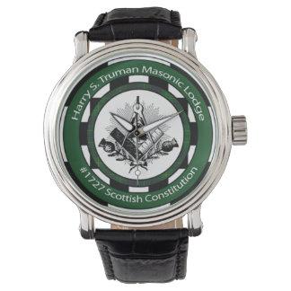 Harry S. Truman Masonic Lodge #1727 Wristwatch