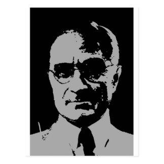 Harry S. Truman silhouette Postcard