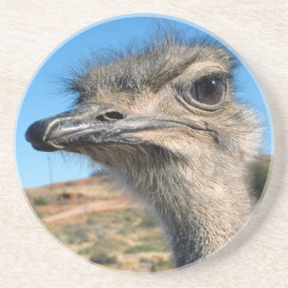 Harry the Happy Ostrich Coaster