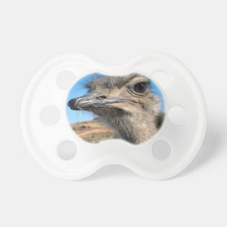 Harry the Happy Ostrich Pacifier