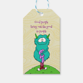 Harry the monster, gift tags