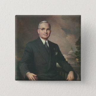 Harry Truman 2 Inch Square Button