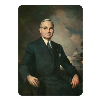Harry Truman Card