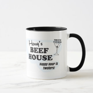 Harry's Beef House coffee mug