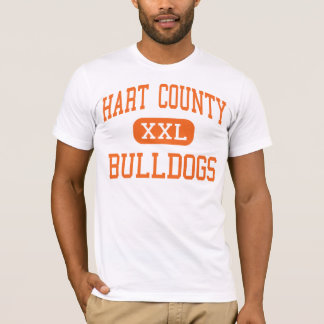Hart County - Bulldogs - High - Hartwell Georgia T-Shirt