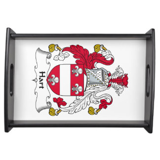 Hart Family Crest Serving Tray