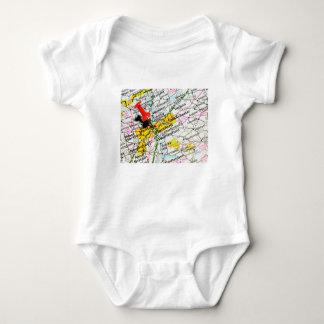 Hartford, Connecticut Baby Bodysuit