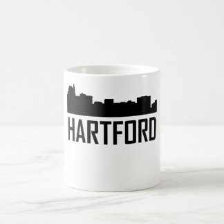 Hartford Connecticut City Skyline Coffee Mug