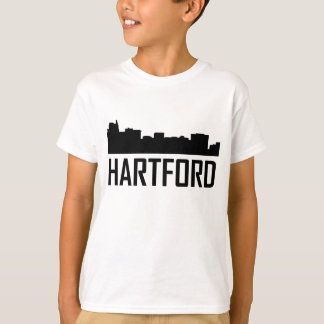 Hartford Connecticut City Skyline T-Shirt