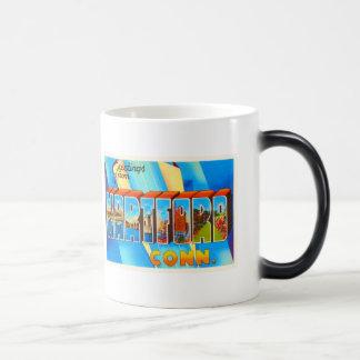 Hartford Connecticut CT Vintage Travel Souvenir Magic Mug