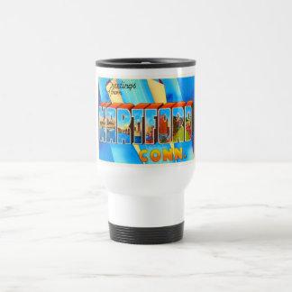 Hartford Connecticut CT Vintage Travel Souvenir Travel Mug