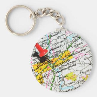 Hartford, Connecticut Keychain