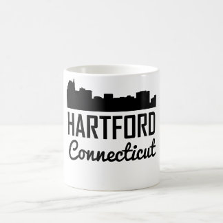 Hartford Connecticut Skyline Coffee Mug