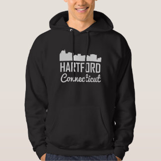 Hartford Connecticut Skyline Hoodie
