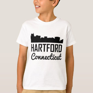 Hartford Connecticut Skyline T-Shirt