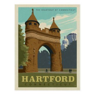 Hartford, CT Postcard
