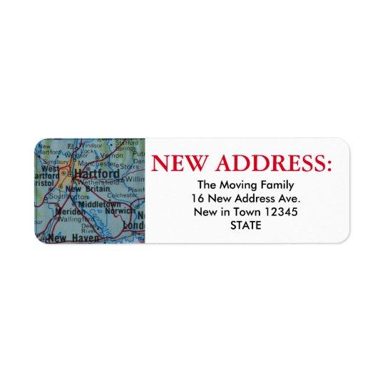Hartford New Address Label