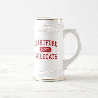 Hartford - Wildcats - Middle - Hartford Iowa Beer Stein