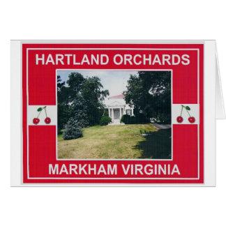 HARTLAND ORCHARDS CARD