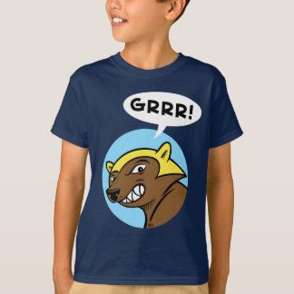 "Harts Pass ""GRRR!"" Tee: Blue T-Shirt"