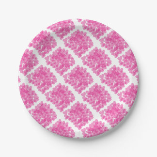 Harts pattern paper plate