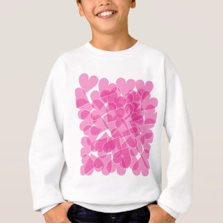 Harts pattern sweatshirt