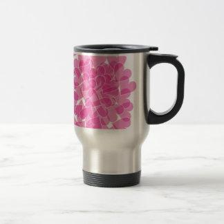 Harts pattern travel mug