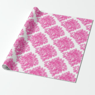 Harts pattern wrapping paper