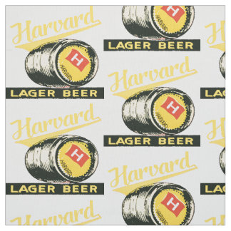 Harvard Lager Beer Fabric