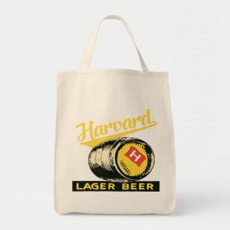 Harvard Lager Beer Tote Bag