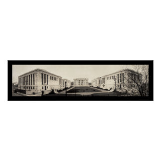 Harvard Medical School Photo 1907 Poster