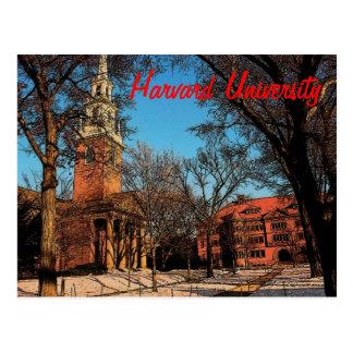 Harvard Postcard