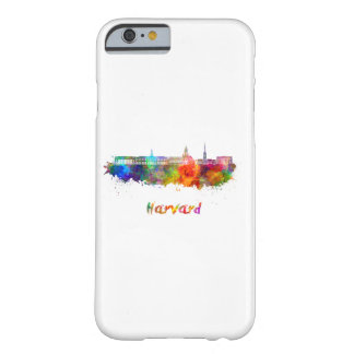 Harvard skyline in watercolor barely there iPhone 6 case