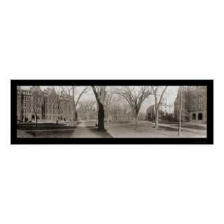 Harvard University MA Photo 1910 Poster