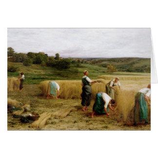 Harvest, 1874 card
